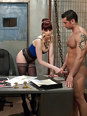 Slave wannabe applies for Maitresse Madelines personal home slave and fails miserably.