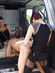 Snatched into a van ass-fucked humiliated used up and tossed out.