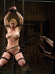 Extreme suspensions heavy latex and sadistic torment along with screaming orgasms