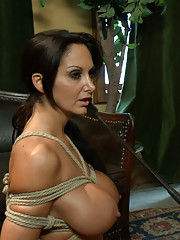 Gorgeous MILF in erotic role play intense domination and bondage rough sex!