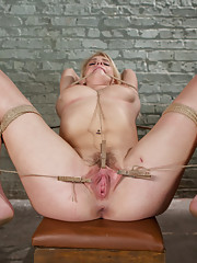 When beautiful slave girl wannabe Allie James come to the Training of O she is tested