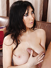 Diana Prince has hot sex with younger cock.