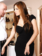 Gorgeous Yurizan Beltran is a hot latin who decides to fuck the man who brings out