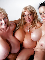 Echo Valley Kayla Kleevage and Sofia Staks smother Charles with their colossal boobies!