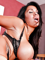 Watch Sienna Wests huge tits bounce as she gets fucked by a big dick.
