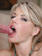 Vicky Vette has sex with younger guy and loves getting fucked on her couch.