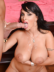 Holly Halston is a hot and horny milf who decides to fuck one of her sons friends.
