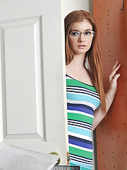 Ava Sparxxx is hot for her teacher so she comes into his classroom hoping that he
