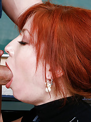 Brittany OConnell is a hot teacher and she decides to fuck one of her students on