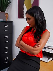 Big breasted teacher Priya Rai wants her students cock in her pussy.