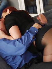 Sexy busty MILF gets fucked by her sugar daddy.