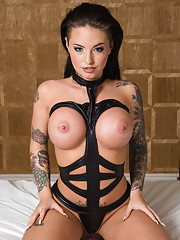 Gorgeous busty Christy Mack meets her client in his room and rides and gets fucked