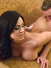 Gorgeous Kendra Lust meets her client for hot sex in his hotel room.