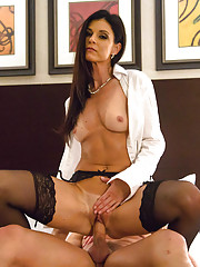 India Summer plays teacher for her horny client for the night.