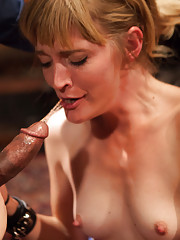 Big Ass Krissy Lynn anal fucked while giving porno lessons to newbie slut Mona Wales