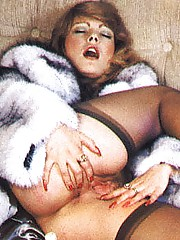 Naughty chicks from the Eighties going wild with big cock