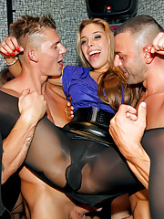 Pantyhose sex parties