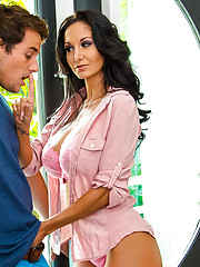 Ava Addams has been cheating on her husband with a hot young stud. When her son039s