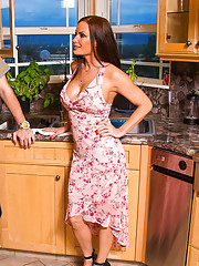 Diamond Foxxx is being neglected by her husband. Hes too busy fishing to worry about