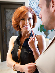 Veronica Avluv orders herself a gigolo. When Johnny shows up asking for directions