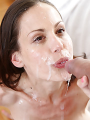 Hot MILF McKenzee takes big dick from her man
