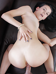 Alaina fucks for the first time on camera