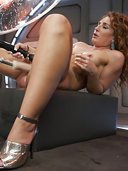 Squirt Queen shorts out our machines with her squirting orgasms! Everything is soaked