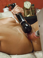 The machines take another multi-orgasm victory as they pump cum moans of first-time-