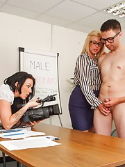 At PureCFNM we give our members the chance to be in scenes with our hot girls. In