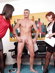 Well known casting agent Wendy Taylor is interviewing a new male actor today. She