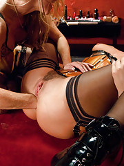 Extreme Anal Lesbian Sex with Long and Wide Toys.