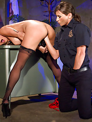 Booked for turning tricks Officer X spanks paddles and flogs this hooker fisting