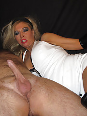 Blondie and her slutty friend are playing the role of two horny dominant divas