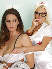 Hey everyone it is nurse Nikita here and I am checking up on Nikita Von James With