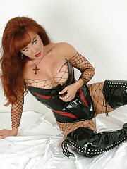 Hi boys. Do you like my outfit? This one of my favorite outfits Sexy Vanessa in Black