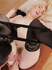 48 year old Dorena from AllOver30 takes a hard cock deep inside