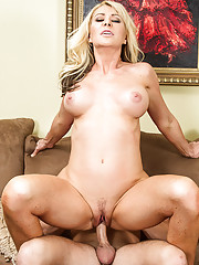 Seth stops by his friend's house to pick him up and head over to the concert. His friend's mom, Sasha Sean, let's Seth know that her son can't go because he's under the weather. Sasha excitingly jumps at the chance to take her son's place at the concert,