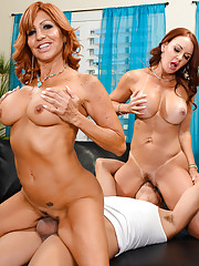Tara Holiday confesses to her friend Janet Mason that shes going through a dry spell.
