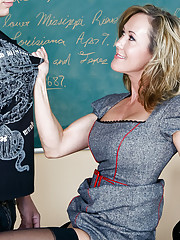 Professor Brandi Love is excited because her student aced his latest exam. Shed been