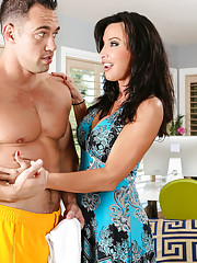 Lezley Zen is trying to get some work done but her son039s friend Johnny is watching