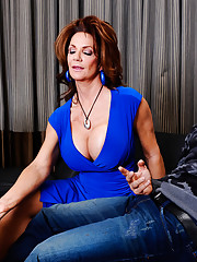 Deauxma is prowling the local coffee shop looking for the next young stud to pounce