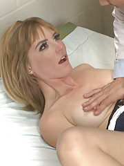 Mr. Pete delivers a rough fucking and corporal punishment. This anal slut screams