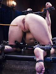 Cherry is devastated with extreme bondage and brutal orgasms.