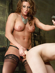 Trial by Ass fucking. Casey Calvert is accussed of being a witch. She must prove