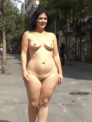 Unfaithful slut paraded naked through the streets where husbands coworkers shop!
