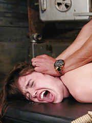 Marco fucks Jodi Taylor manhandles and ties her up tight. He fucks everyone one of