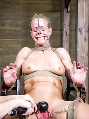 Simone Sonay said she loves to be tied down and rough fucked. She thought that she