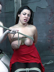 Dana Vixen says that her best orgasms are when she is suffering. She has not cum