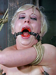 Extreme bondage is no problem for Cherry Torn. In fact she loves it. Damon Pierce
