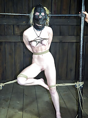 Nicki Blue is the first girl to ever have a repeat performance at RealTimeBondage.com.